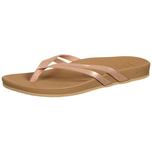 Reef womens Sandals | Spring Joy, ROSE GOLD, 10 US medium