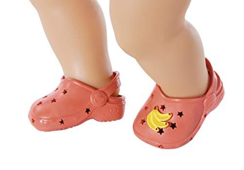 Zapf Creation 828311 BABY born Holiday Schuhe mit Pins, Puppenzubehör 43 cm - Farbe nach Vorrat