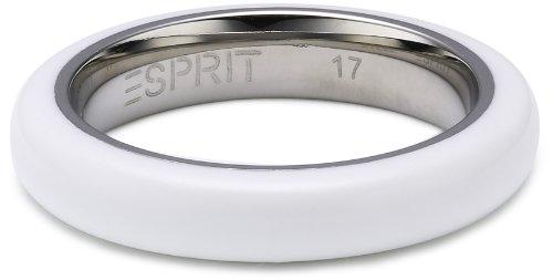 ESPRIT Jewels - Anillo de Acero Inoxidable, Talla 13 (16,88 mm)