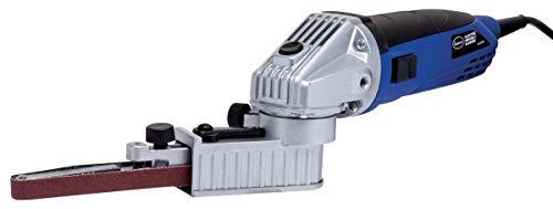 Eastwood Electric Mini Belt Sander Grinder File with 120 Grit Abrasive Sanding Belt and Key 2300 Fpm