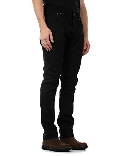 Nudie Jeans Unisex-Erwachsene Dude Dan Jeans, Dry Ever Black, 24W x 32L