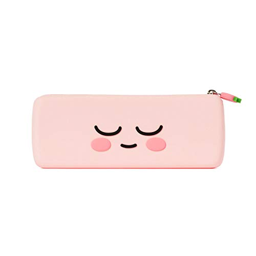 KAKAO FRIENDS Official- Silicone Pencil Case Face Type (Apeach)