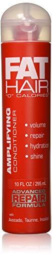 Samy Fat Hair 0 Calories Advanced Repair Formula Amplifying Conditioner, 10 Ounce (SHOMALVI3279)