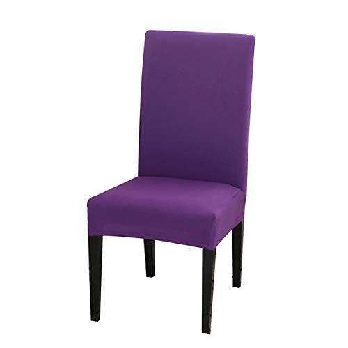 J.AKSO 1 funda universal elástica para silla de oficina (morada)