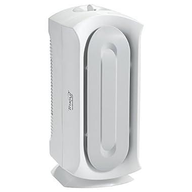 Hamilton Beach 04384 Air Purifier, Odor Eliminator, Permenant HEPA Filter, For Allergies & Pets, TrueAir Ultra Quiet, White