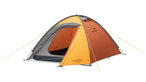 Easy Camp Meteor 300 Tente Mixte Adulte, Orange/Or, 3 Personnes