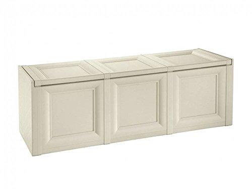 Tontarelli 8086013210 Omnimodus Aufbewahrungsbox, 125,5x40x44cm, cremefarben