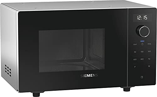 Siemens FF513MMB0 iQ500 freistehende Mikrowelle / 17 L / 800 W / Schwarz / cookControl 7 Automatikprogramme