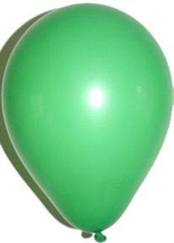 Valeur Solide Couleur ballons en latex | 10 Standard ballons verts [Jouet]