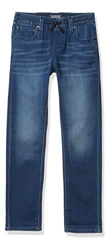 Signature by Levi Strauss & Co. Gold Label Boys Pull On Slim Fit Jean, aquarium, 8