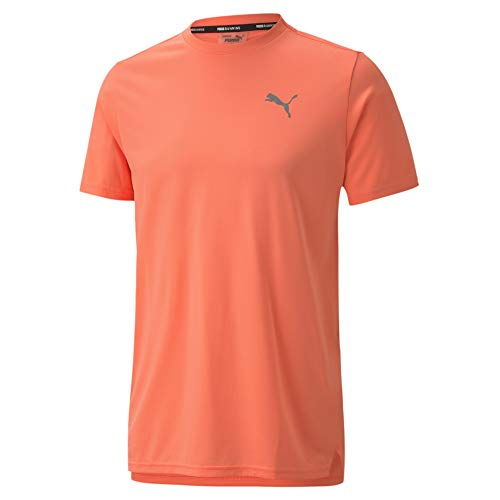 PUMA Men's Laser CAT Running TEE, Nrgy Peach, S