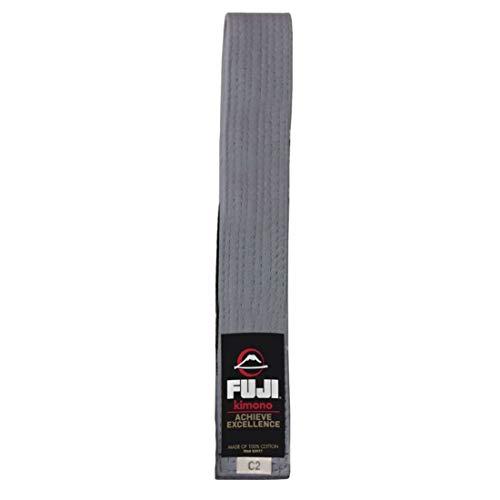FUJI – Premium Cotton Blend BJJ Belt Gray, A1