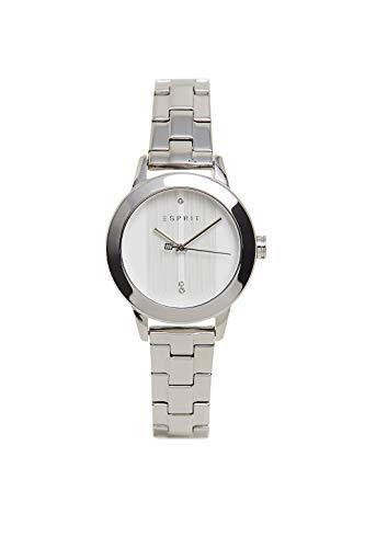 Esprit ES1L105M0265 Tact horloge dameshorloge roestvrij staal 5 bar analoog zilver