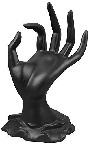 ChezMax Anillo de mano maniquí de poliresina en forma de soporte de pulsera de exhibición de joyería soporte de joyería para la organización del hogar