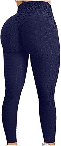 OVIWENEII Leggins Mujer Push Up Deportivos Yoga Leggings de Cintura Alta Control Abdomen