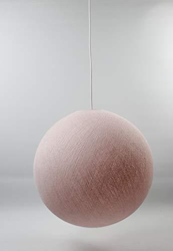 Cotton Ball Lights hell rosa 25cm Hängelampe einzeln, Baumwolle, 25 cm