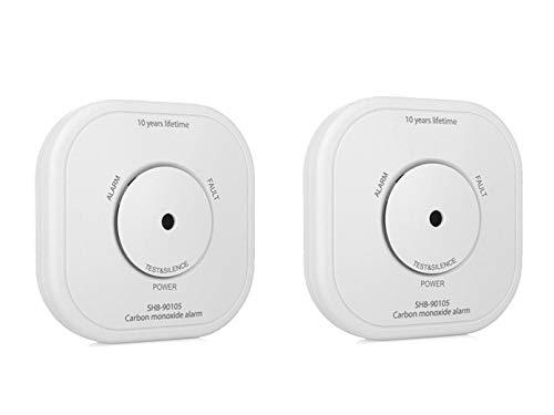 Intelligenter Zusatz Kohlenmonoxid Melder zur Smart Home PRO Serie im 2er Pack