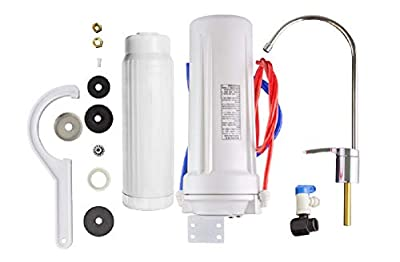 New Wave Enviro NEW-WAVE-ENVIRO-30008 10 Stage Unit Undersink-Mounted Water Filter