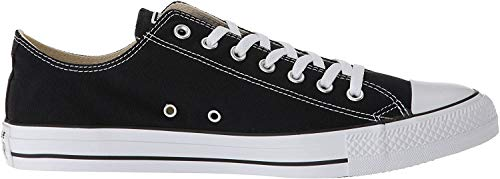 CONVERSE Chuck Taylor All Star Seasonal Ox, Unisex-Erwachsene Sneakers, Schwarz (Black), 43 EU