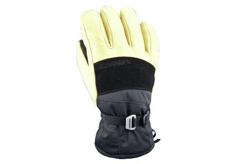 GORDINI Men's The Polar Glove,Black/Gold,Small