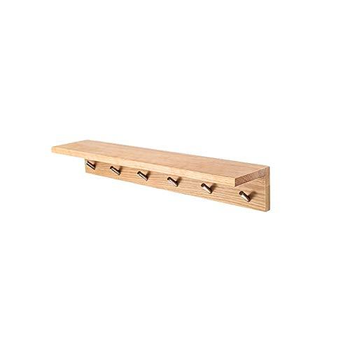 Simple Style Hangstelling, massief houten Rek van de Vertoning en Organizer, Kapstokken met 7 haken for Corridor 410