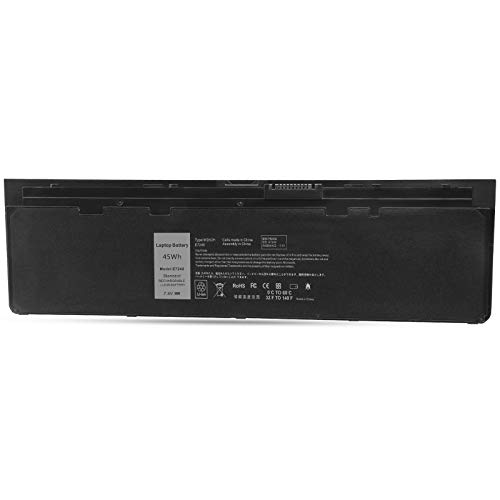 ARyee E7240 Battery Compatible with Dell Latitude E7240 E7250 GVD76 GD076 GHT4X HJ8KP JN0J1 KKHY1 NCVF0 VFV59 WG6RP WD52H YDN87(45Wh 7.4V)