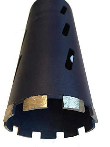 4 1/4' Laser Welded Dry Diamond Core Drill Bits for Cutting Concrete and Asphalt, 4 1/4' Diameter x 11' Length