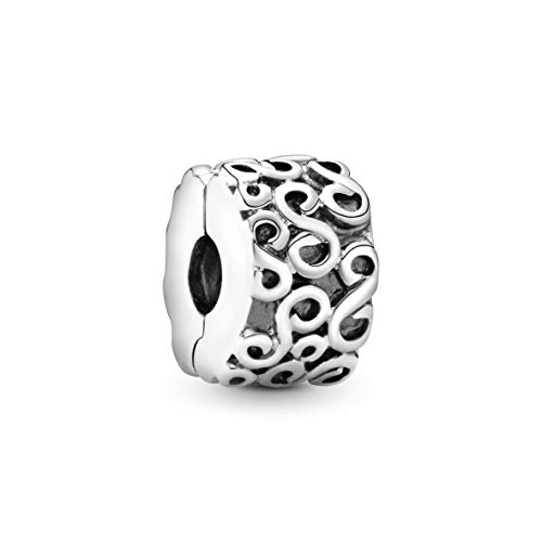 Pandora Moments Wirbel Clip Sterling Silber 790338