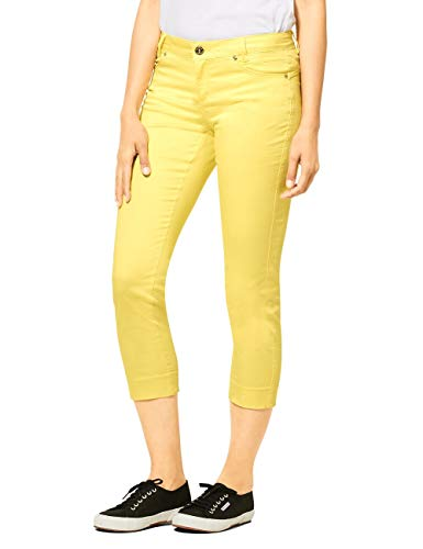 Street One Damen Yulius Hose, Light Yellow, W42/L26