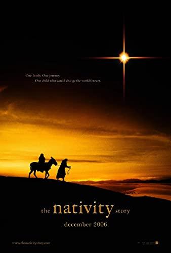 SIRIUSART Lienzos Cuadros Decorativo The Nativity Story Movie Art Print Poster Decoración de la Pared del hogar 60x90cm