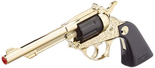 Villa Giocattoli-1590 Pistola in Metallo Alabama, Colore Oro, 1590
