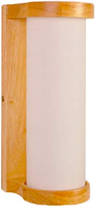 CAVEMAN Wandleuchten Innen Modern, Moderne Unbedeutende Kreative Geometrische Zylinderfrmige Schlafzimmerbettschlafzimmerkorridor-Studiendekorationsbeleuchtung des Festen Holzes, E27