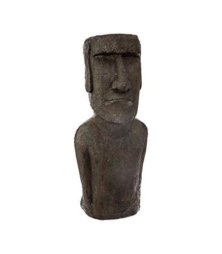 Atmosphera - Statue île de pâques en résine h 58 cm