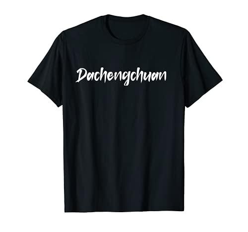 Calligraphie Dachengchuan pour un amateur d'arts martiaux chinois T-Shirt