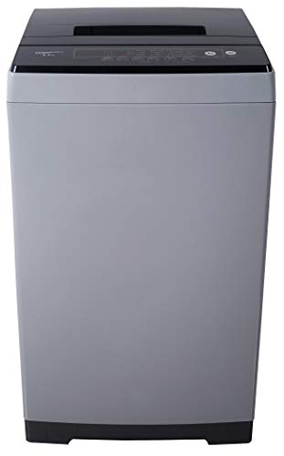 AmazonBasics 6.5 kg Fully-Automatic Top Load Washing Machine (Grey/Black, Full Metal body, LED Display)