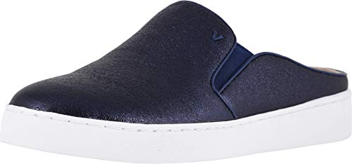Vionic Women's Splendid Dakota Slip-on Mule - Ladies Backless Sneakers with Concealed Orthotic Arch Support Navy 7.5 M US