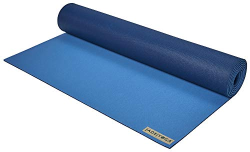 Jade Yoga 2 tone mat, Slate blue/Midnight blue