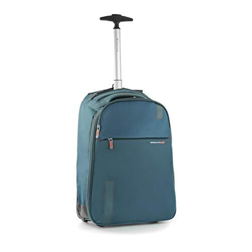Roncato Rucksack Carry-On Auf 2 Rollen S Weich Speed - Handgepäck cm 47 x 32 x 18 Leicht Organisierter Innenraum Von Ryanair Easyjet zugelassen 2 Jahre Garantie
