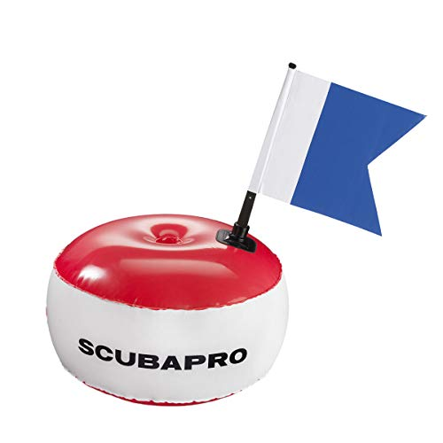 Johnson Outdoors SCUBAPRO - Signalboje rund mit Alpha Flagge