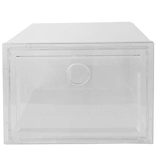 weichuang Caja de zapatos antioxidante para el hogar, caja de zapatos creativa para el polvo, caja de zapatos (color: transparente)