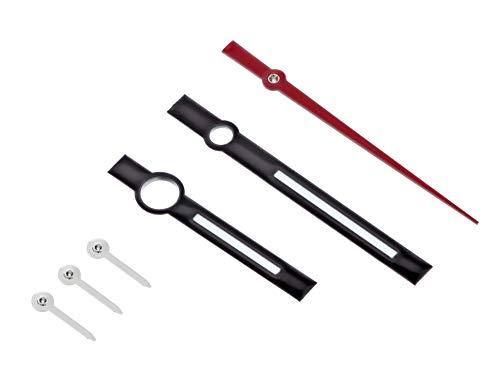 Watch Hand Compatible with Rolex Tudor Daytona Chronotime Movement ETA 7750-7753 Black