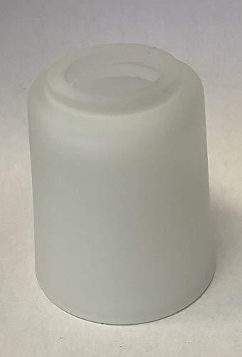 Lampenglas Lampenschirm G9 opalfarbig weiss 80mm KH2598