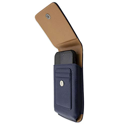 caseroxx Handy Tasche Outdoor Tasche für Gigaset GX290 / GX290 Plus, mit drehbarem Gürtelclip in blau