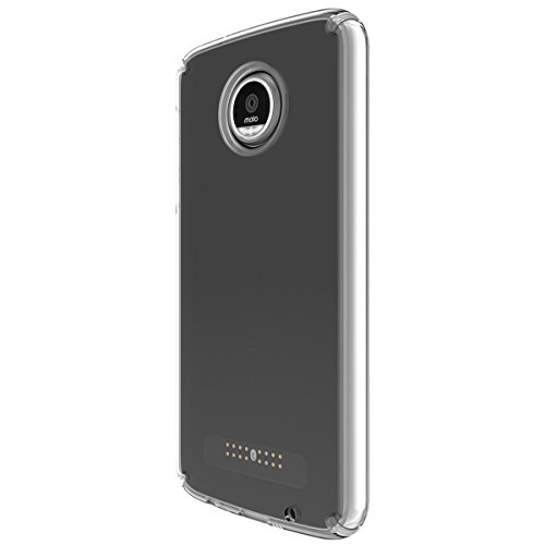 Capa de celular Speck Products Candyshell para Moto Z Play, Clear/Clear, 85748-5085