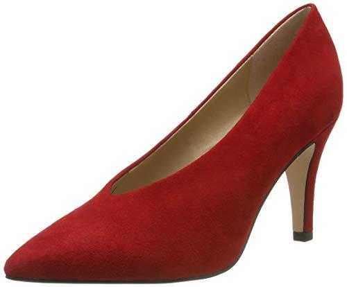 Caprice Effi, Zapatos de Tacón Mujer, Rojo (Red Suede 530), 39 EU