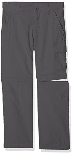 Columbia Silver Ridge III Convertible Pants EH8590 Pantalón, Niño, Gris (Grill), XS