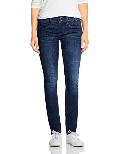 Street One Damen 372564 York Fit Slim Jeans, Blau (Indigo Stone wash 12030), 27W / 32L