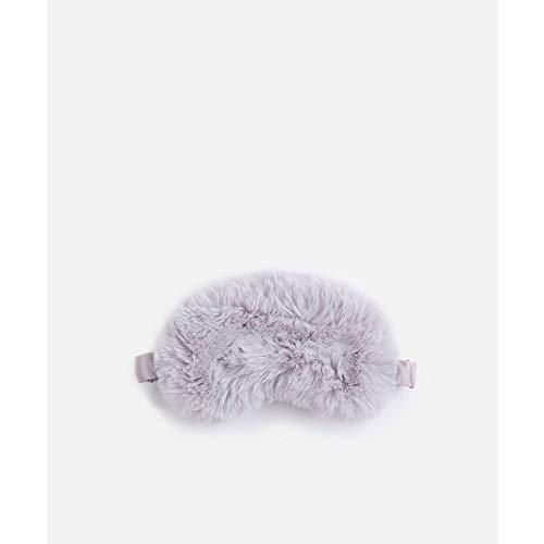 BFYH Lunettes pour Dormir, Pas De Globes Oculaires, Idéal pour Dormir Et Voyager Bandoulières Ajustables Lunettes Douces Et Confortables Lavables (Gris Clair)
