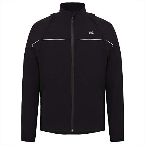 Tao Sportswear coupe-vent et imperméable Veste de course Homme Basic Nilo m3002 46 noir