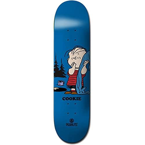 Element Peanuts Linus X Cookie Skateboard Deck 8.4 inch Multi